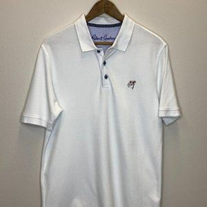 Robert Graham Polo Golf Shirt Size LG